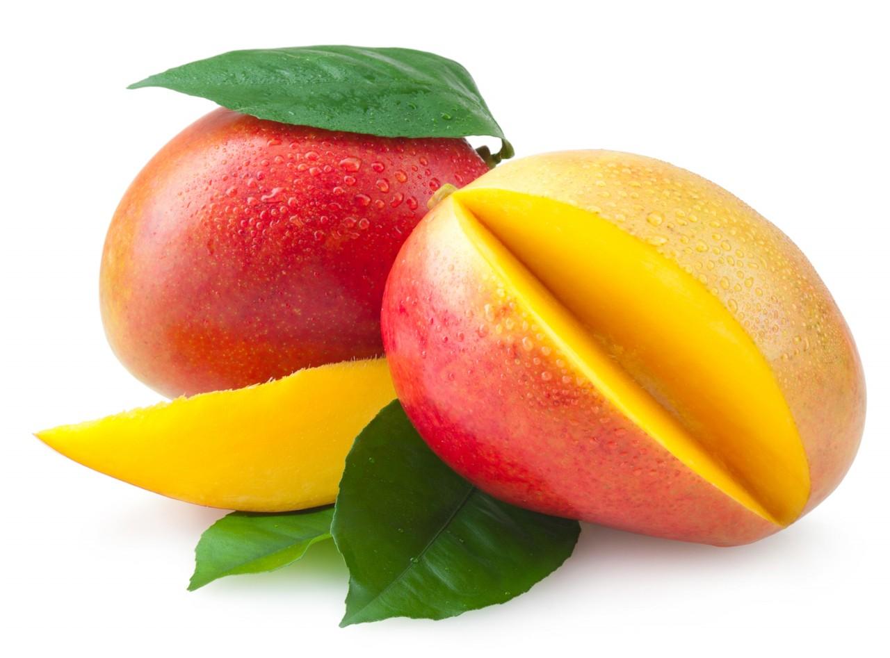 La fruta alimentación saludable.mango